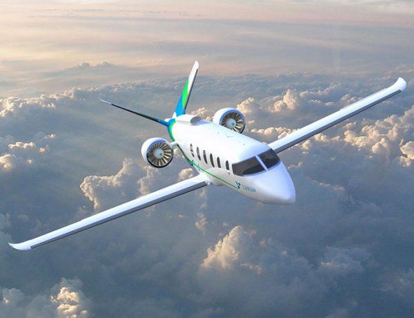 Zunum Aero เครื่องบินพลังงานไฟฟ้าไฮบริด